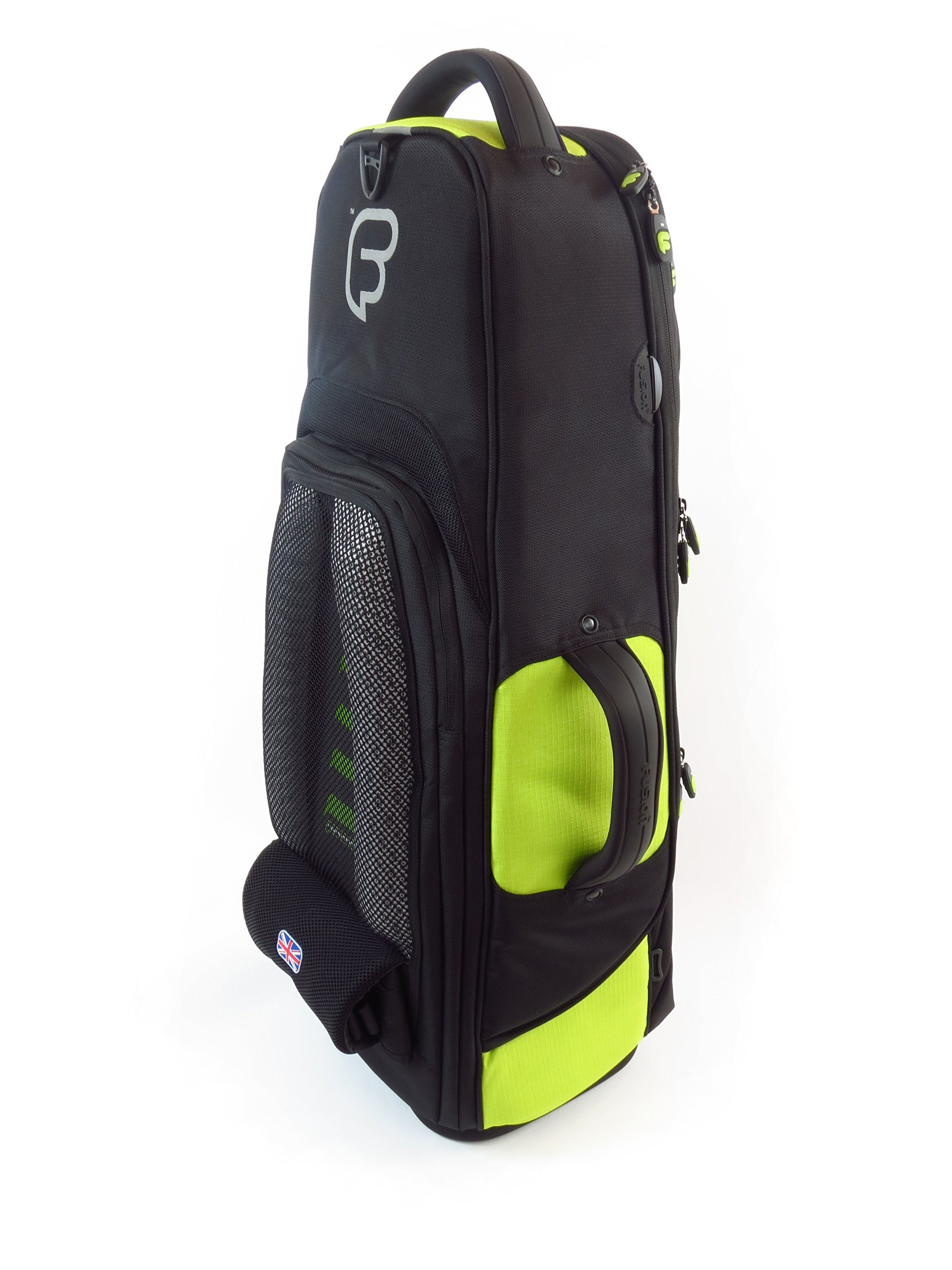 Fusion Premium Series (FB-PW-02-L) - Tenor Saxophone Gig Bag, Black/Lime by Fusion (Image #2)