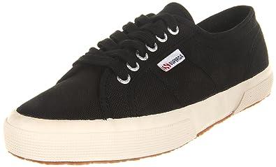 Superga Unisex 2750 Cotu Black Classic Sneaker - 42 M EU / 10.5 B(M