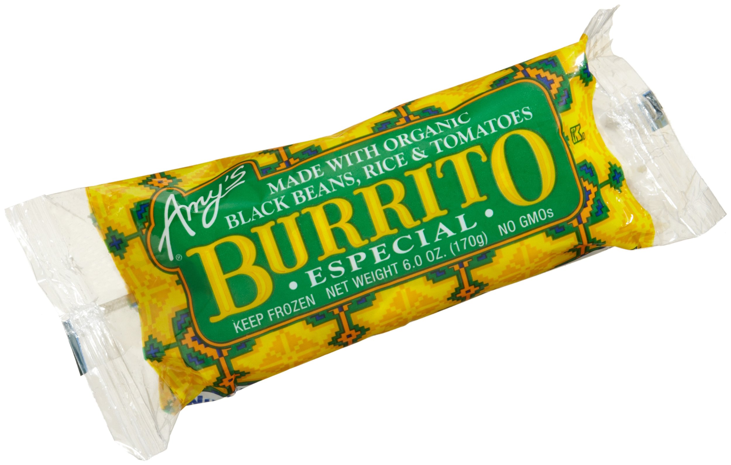 Amy's Burrito Especial, Organic, 6-Ounce Boxes (Pack of 12)