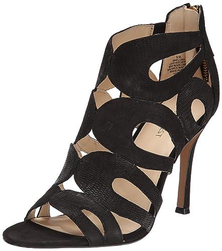 4244acff51e8 Nine West Women s Flora Nubuck Heeled Sandal