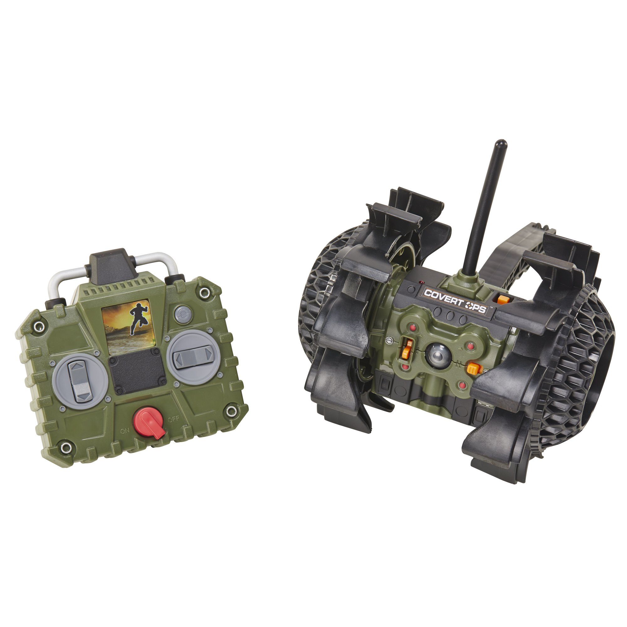 SpyNet Covert Ops Ultra Tuff Video Recon Bot by SpyNet