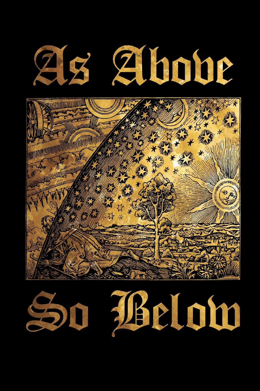 Amazon com: As Above So Below: Alchemy Symbol - Black and