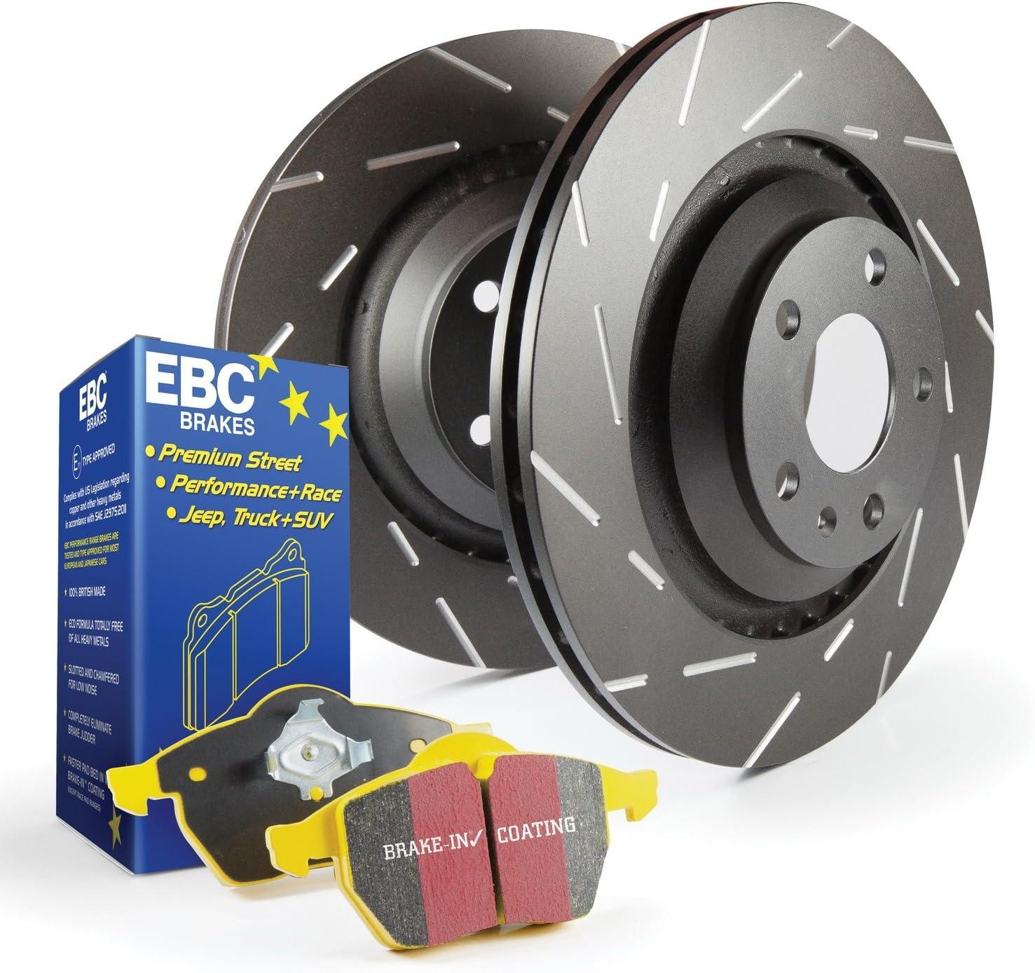 S9KR1196 EBC Brakes S9 Rear Kits Yellowstuff and USR Rotors