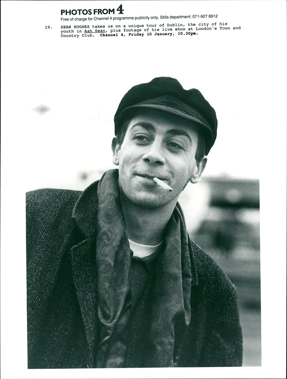 Amazon Vintage Photo Of Sean Hughes Comedian Entertainment