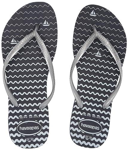 Amazon Com Havaianas Women S Slim Oceano Flip Flops