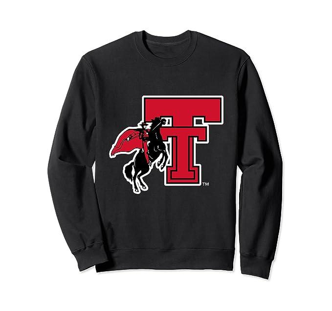 quality design cef87 49764 Unisex Texas Tech Red Raiders NCAA Women s Sweatshirt TT-06 2XL Black