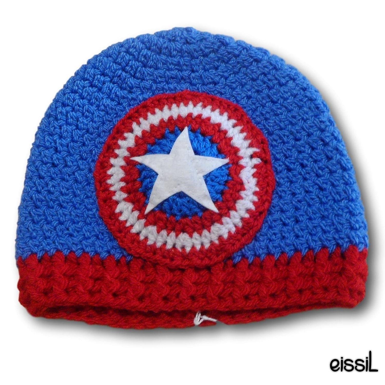 Captain America Avengers Crochet Hat Amazon Handmade