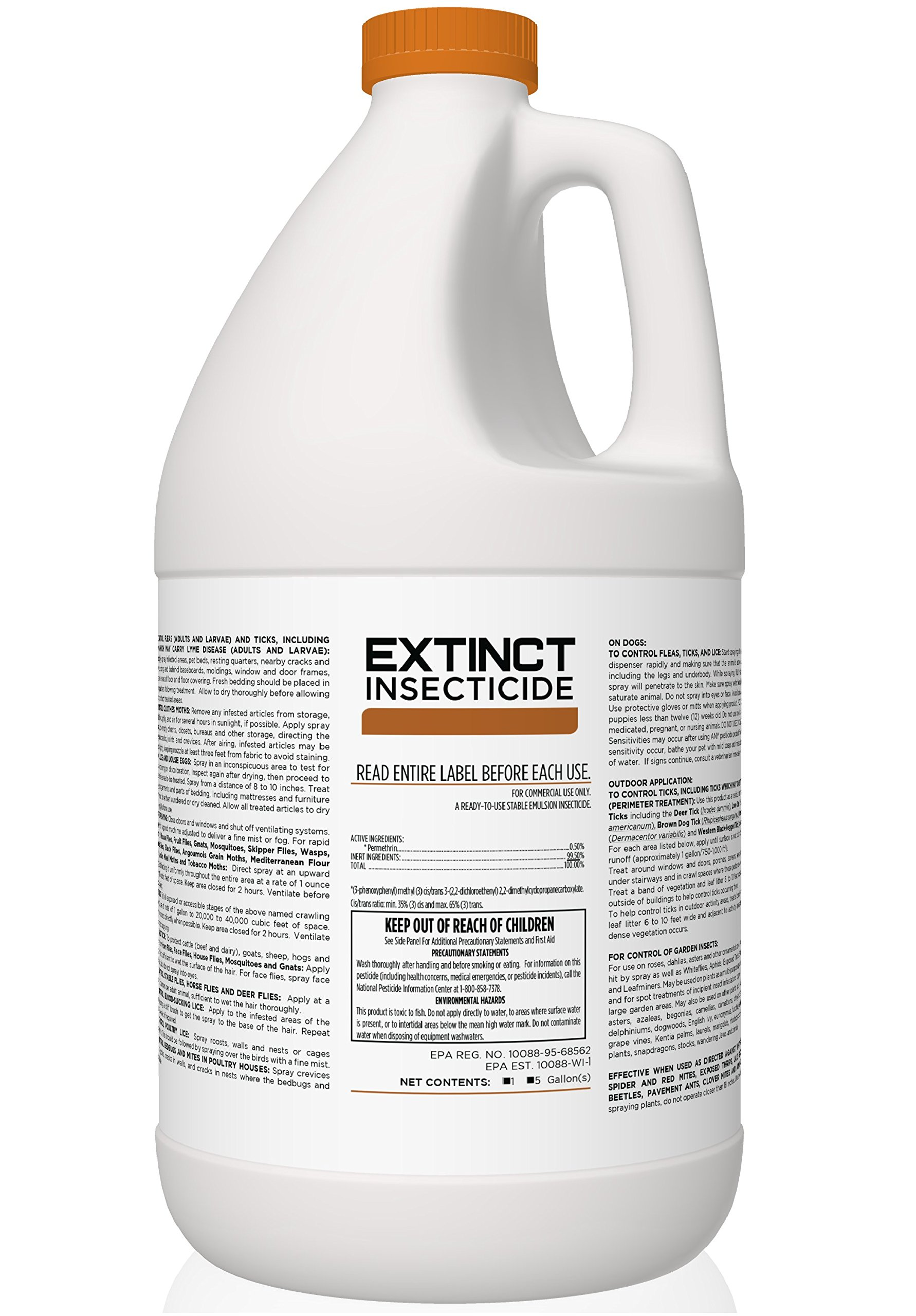 LONG LASTING LIQUID INSECTICIDE FOR INDOOR & OUTDOOR USE | SAFE INSECTICIDE | PERMETHRIN INSECT KILLER | BEDBUG KILLER | DOG & CATTLE INSECTICIDE | LIVESTOCK INSECT KILLER & MORE!