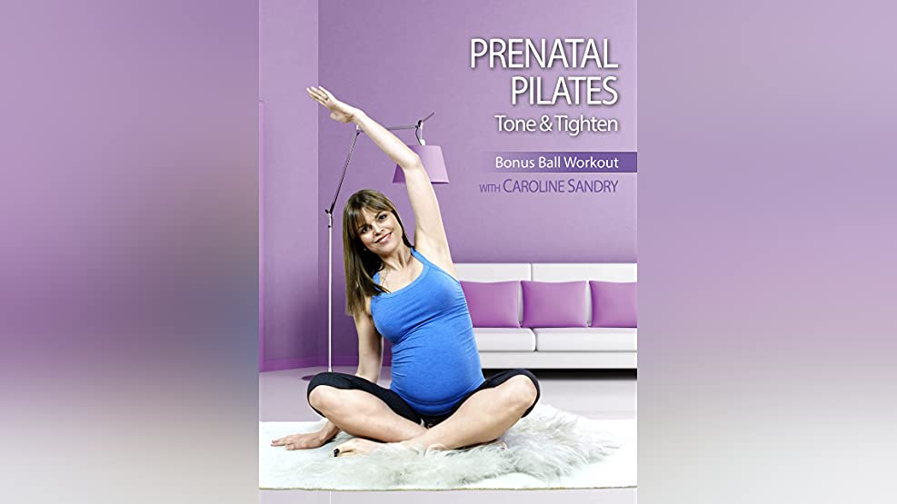 Caroline Sandry: Prenatal Pilates - Tone and Tighten: Bonus Ball Workout