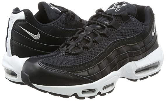 Nike Air Max 95 Premium, Sneaker Uomo, Nero (Black/Chrome-Black-Off White),  44 EU: Amazon.it: Scarpe e borse