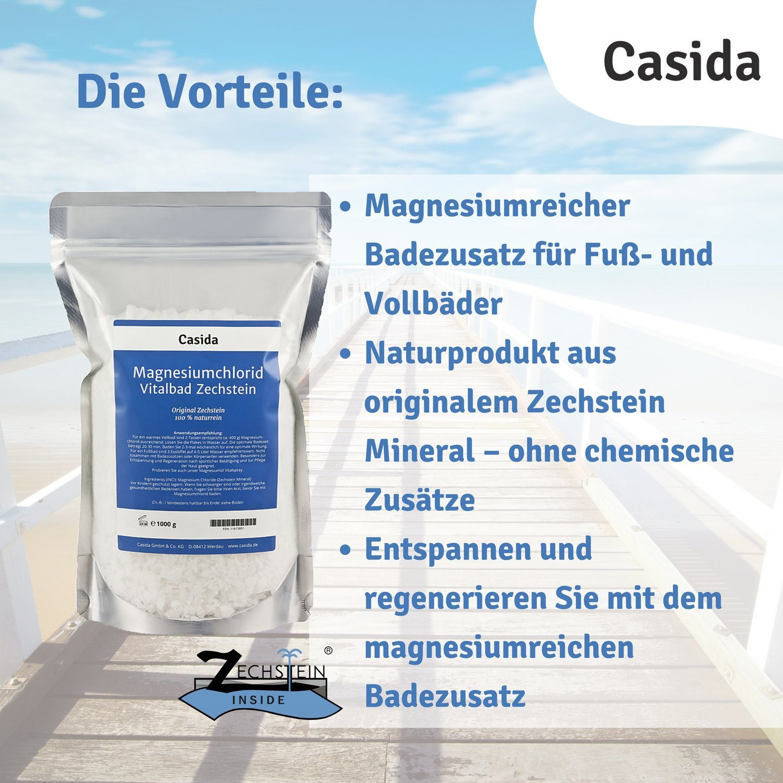 Cloruro de magnesio Vital baño ZECH piedra 1 kg baño: Amazon.es: Salud y cuidado personal