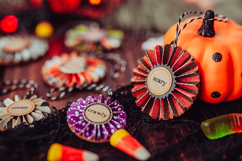 Set of 9 Halloween Ornament Set Vintage Halloween Ornaments Halloween Tree Decorations