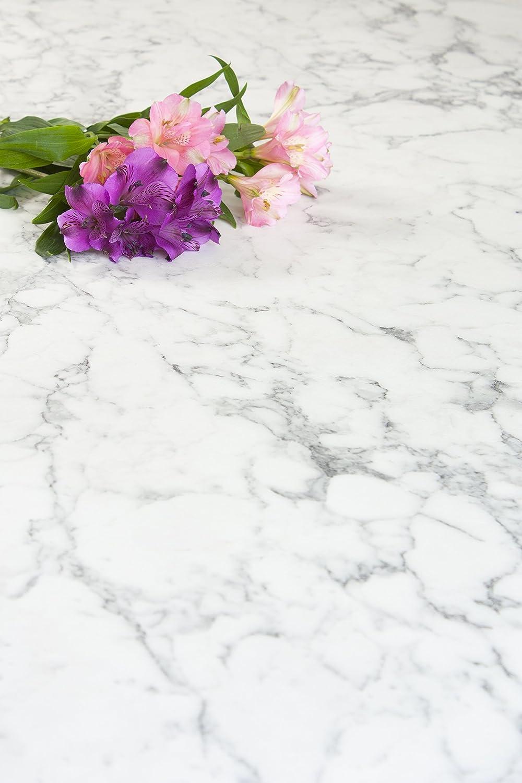 Weißer Marmor - Resopal Küchenarbeitsplatten (4.1m × 600mm × 38mm)
