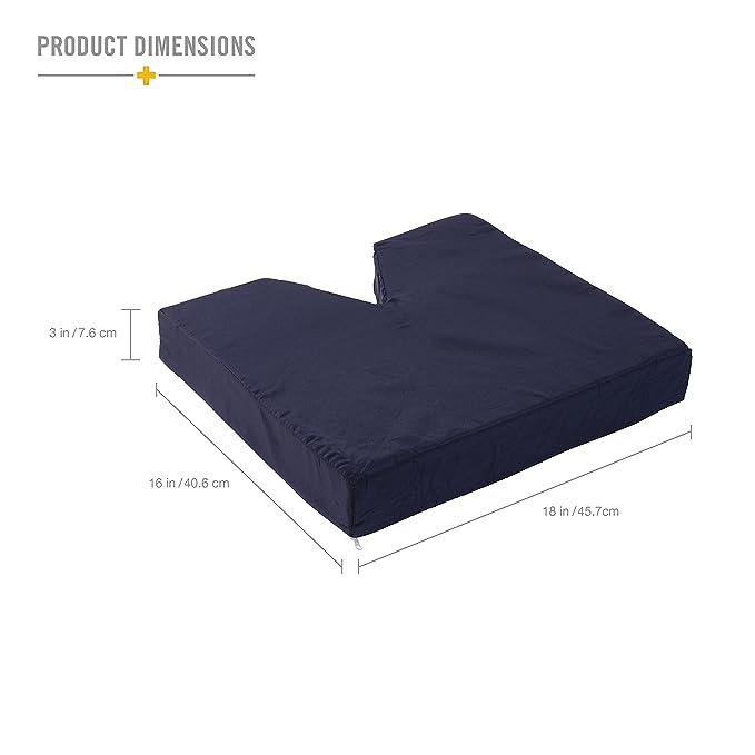 Amazon.com: DMI Comfort – Contorno de espuma coxis Cojín de ...