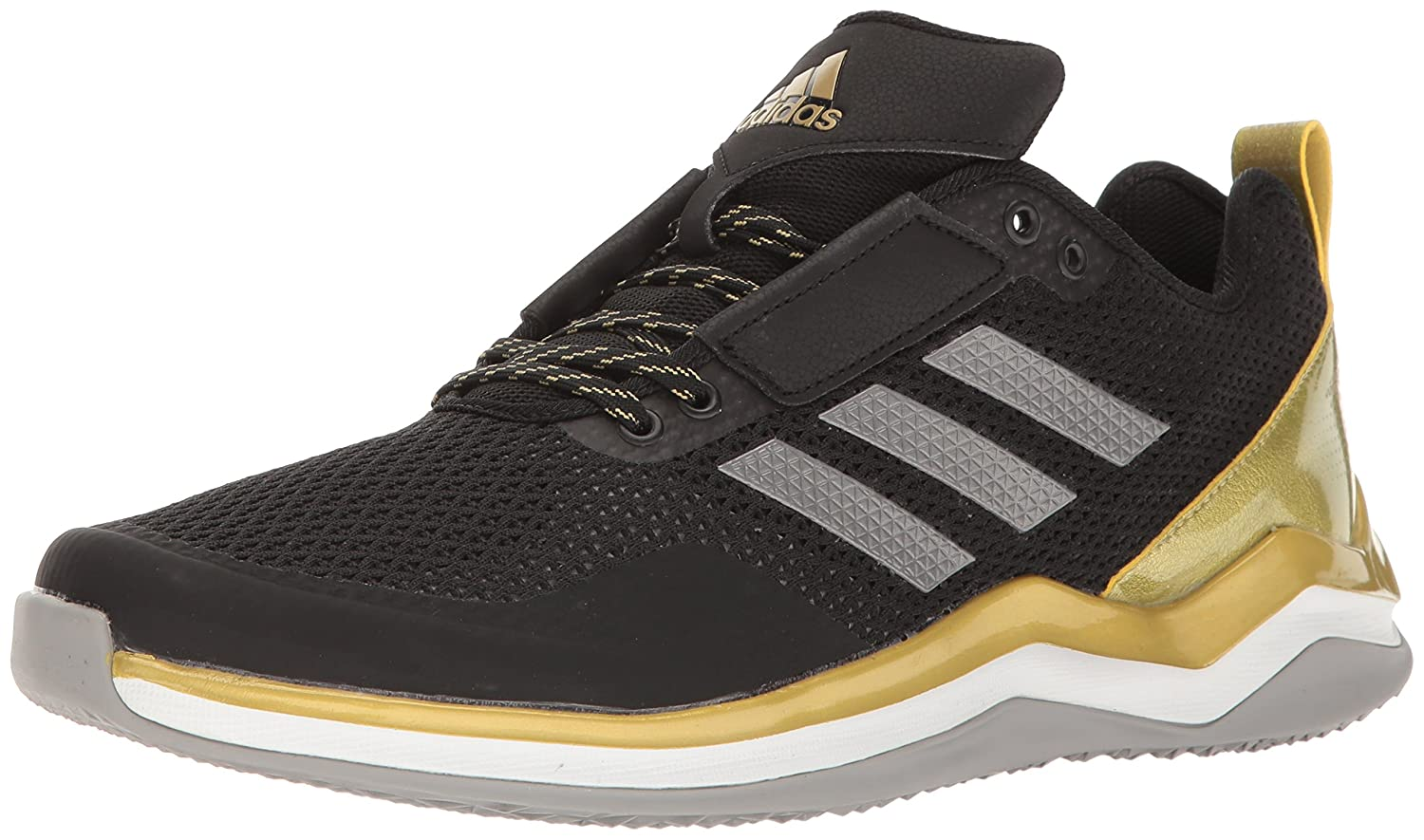 adidas メンズ Speed Trainer 3.0 B01LXXVY9J 7 D(M) US|Black/Iron/Metallic Gold Black/Iron/Metallic Gold 7 D(M) US