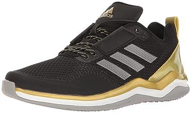 adidas Speed Trainer 3.0 - Men's Baseball - Black/Iron Metallic/Gold Metallic AQ8125