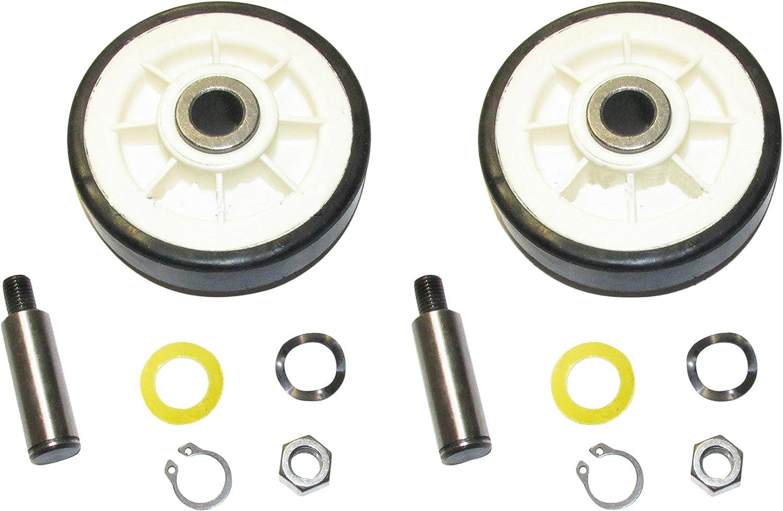 Dryer Drum Roller Kit (Set of 2) - Part # 12001541 / 303373K Belt Rollers