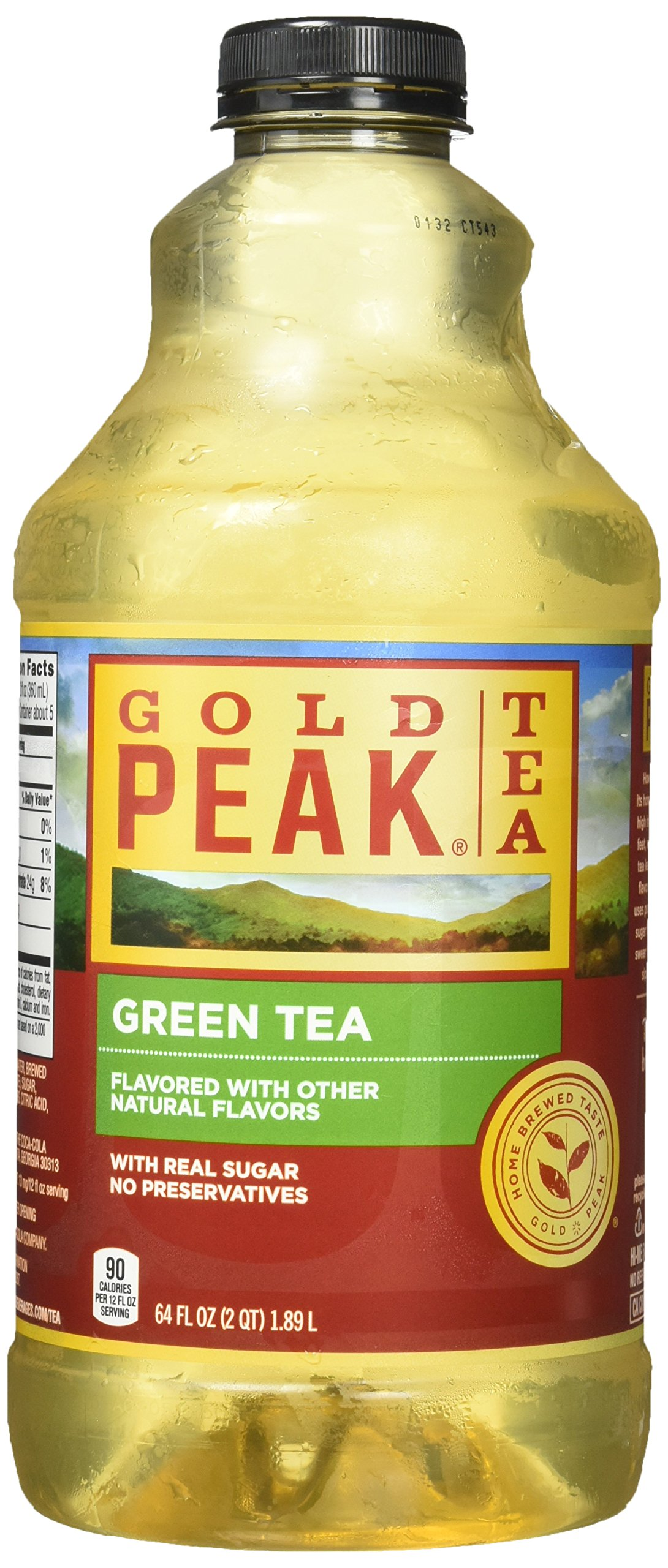 Gold Peak Tea, Green Tea, 64 fl oz
