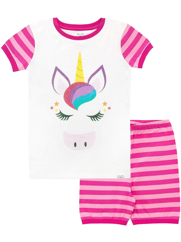 Harry Bear Girls Unicorn Short Pajamas