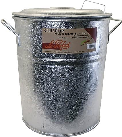 Le Parfait 2073005 - Olla esterilizadora para 11 tarros de conservas (metal, 45 x