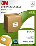 3M Recycled Shipping Labels for  Laser/Inkjet