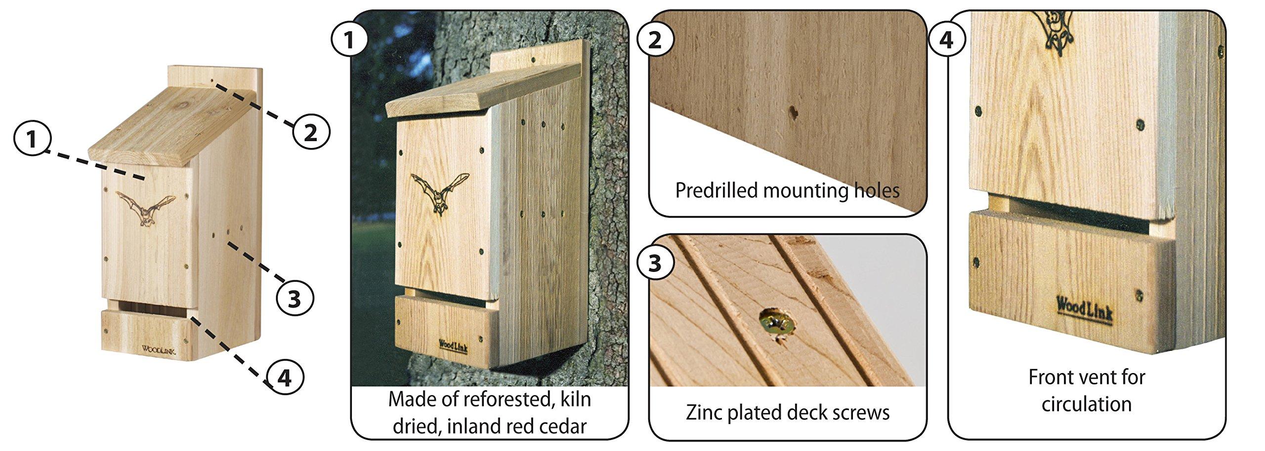 Woodlink BAT1 Cedar Bat Cottage by Woodlink (Image #5)