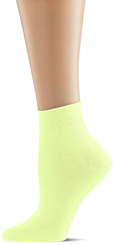 Burlington Damen Socken Neon Darlington Gelb (Lightning 1690) 36/41 22062