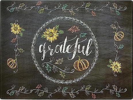 amazon com decorative fall chalkboard glass kitchen cutting board