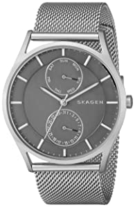 Skagen Men's SKW6172 Holst Analog Quartz Silver Watch