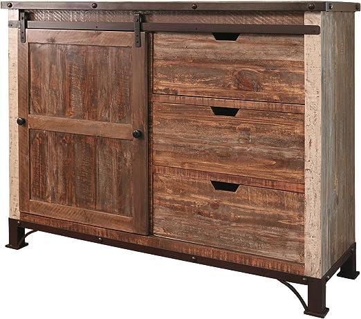Burleson Home Furnishings Beau - Mueble para Puerta corredera con Consola de Mesa: Amazon.es: Juguetes y juegos