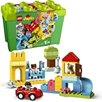 LEGO DUPLO Classic Deluxe Brick Box 10914 Starter Set with Storage Box, Great Educational Toy for Toddlers 18 Months and…
