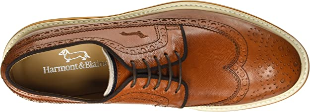 Shoes HARMONT/&BLAINE Man Sneakers trendy BLU Fabric,Suede E3045611