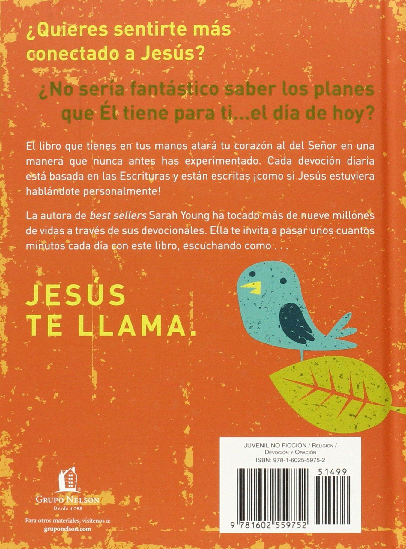 Jesús te llama: 365 lecturas devocionales para niños (Spanish Edition):  Sarah Young: 9781602559752: Amazon.com: Books