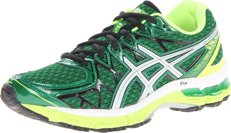 Asics - Zapatillas de Running para Mujer Pine Green/Lightning/White: Amazon.es: Zapatos y complementos