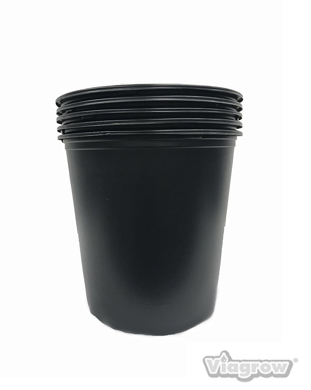 5 Gal Nursery Trade Pots (4.02 gal / 15.19 Liters) 20 Pack