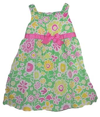 Amazon okie dokie baby girls spring flower dress light green okie dokie baby girls spring flower dress light green multi size mightylinksfo