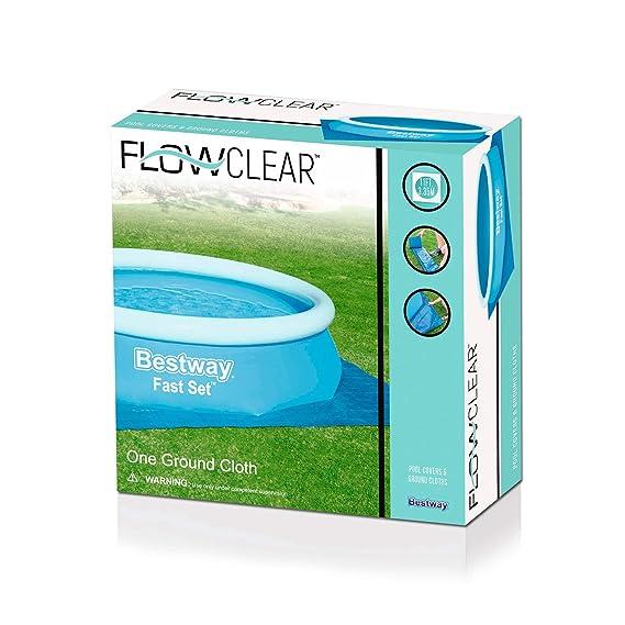 Tapiz suelo 335x335 cm Bestway 58001 para piscinas: Amazon.es: Hogar