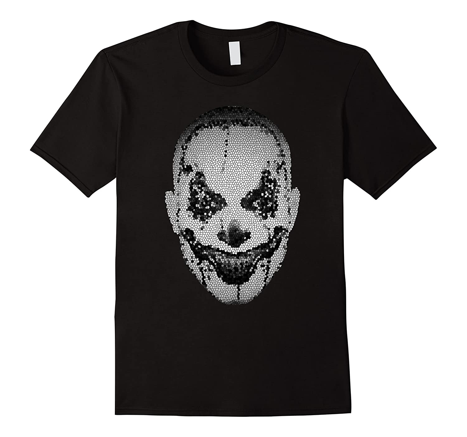 Creepy Scary Clown T-Shirt Horror Fan Halloween Costume-TJ