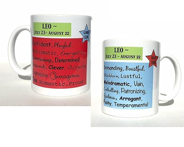 Amazon com: Leo astrology mug - new age gifts - zodiac signs