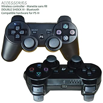 double shock iii wireless controller for play station 3 sixaxis rh amazon co uk Six Axis Dance PlayStation 3 Controller