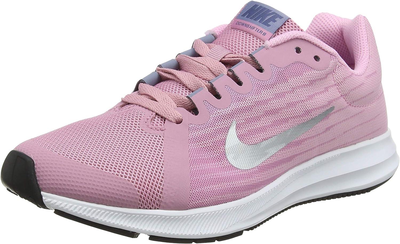Nike Jungen Downshifter 8 (Gs) Laufschuhe, Schwarz