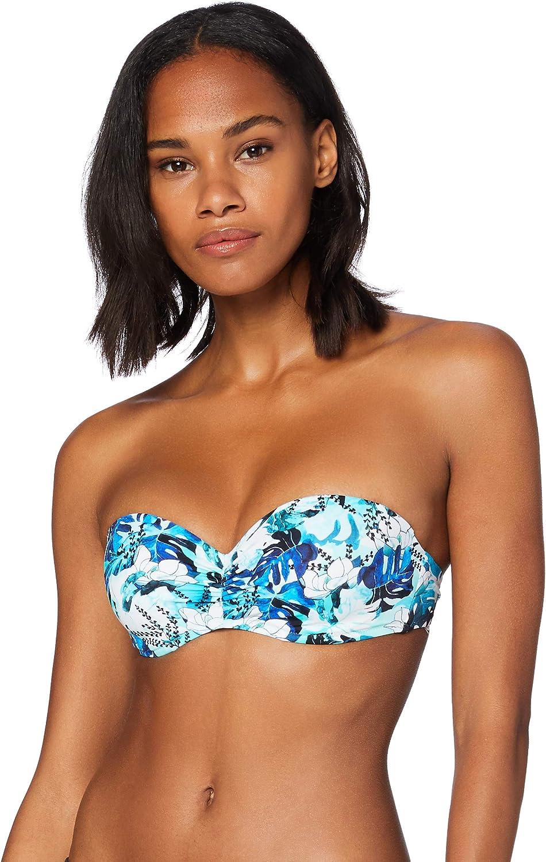 Animal Print Iris /& Lilly Reggiseno Bikini con Ferretto Donna Marchio 4B Label: 38G Multicolore