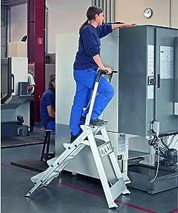 Zarges Z500 – Escalera de seguridad 3 peldaños): Amazon.es: Bricolaje y herramientas