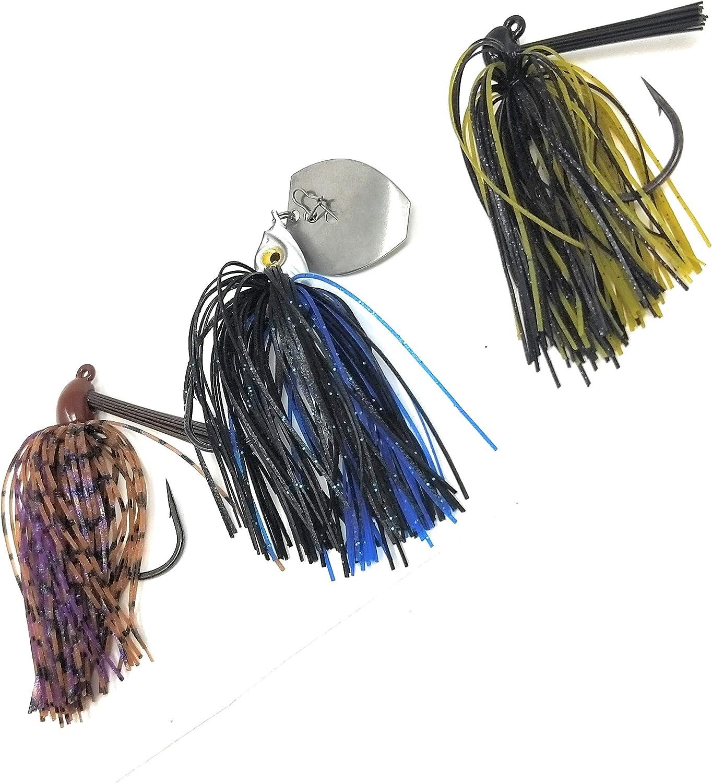 Wtrees #2780 Best Tungsten Flipping Pitching Swim Football Casting Jigs Set Kit Bulk for Bass Fishing