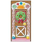 Beistle - Gingerbread House Door Cover