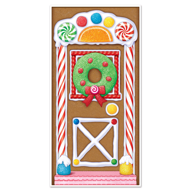 Amazon.com Gingerbread House Decorations - Gingerbread House Door Cover Gingerbread House Christmas Danglers AND Mini Gingerbread Cutouts Health ...  sc 1 st  Amazon.com & Amazon.com: Gingerbread House Decorations - Gingerbread House Door ...