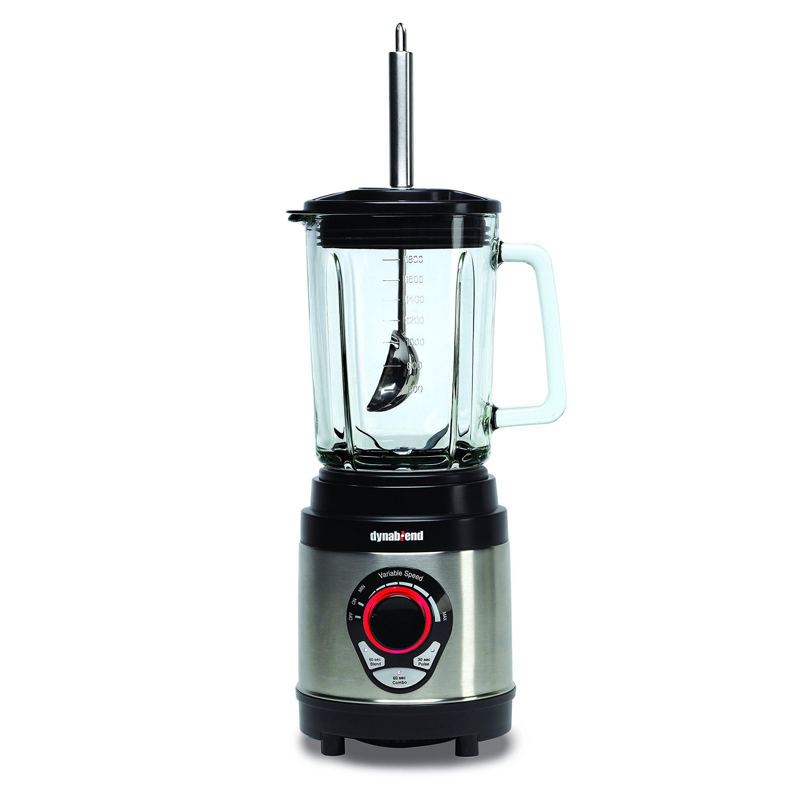 Tribest DB-950 Dynablend Clean Blender, Stainless Steel and Glass