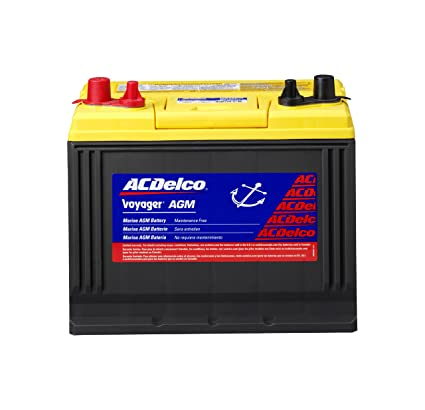 Ac Delco Battery >> Amazon Com Acdelco M24agm Professional Agm Voyager Bci Group 24