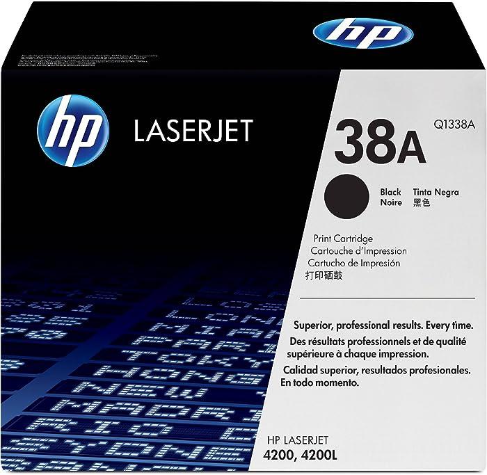 HP 38A | Q1338A | Toner Cartridge | Black