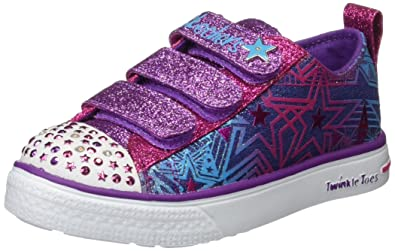 Amazoncom Skechers Kids Womens Twinkle Toes Twinkle Breeze